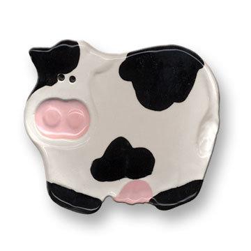"3"" Mini Cow Dish"