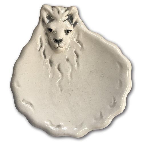 "3"" Mini Llama Dish"