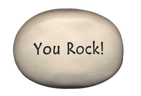 """3.5"""" x 5"""" x 1 """"You Rock!"""""""