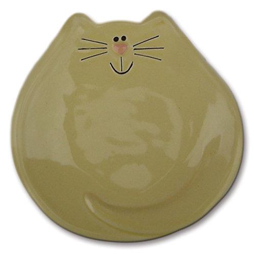 "5"" Cat Dish: Solid Yellow"