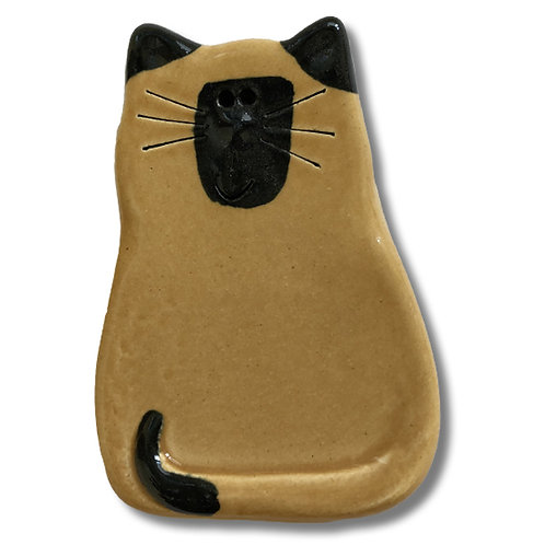 "3"" x 2"" Cat Magnet: Tan Siamese"