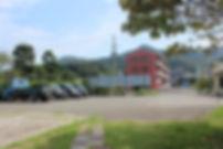 松原歯科駐車場国道側