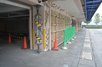 耐震補強のための壁作製