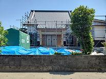 ただ今、お寺を建築中です。