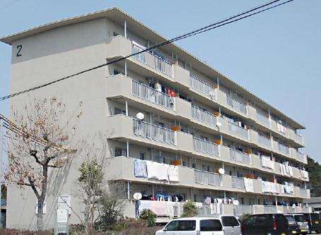 県営八幡台団地4、6-2号棟 外壁改修工事(熊本)