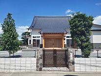 大光寺様のお寺が完成いたしました。