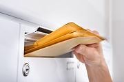 郵便物の確認