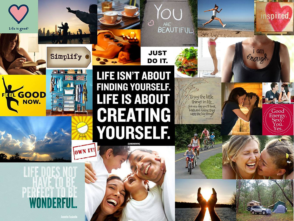 Using a Vision Board to set goals