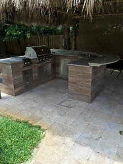 U shaped with granite, wood radius tops.jpg
