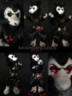 Reaper full digigrade fursuit