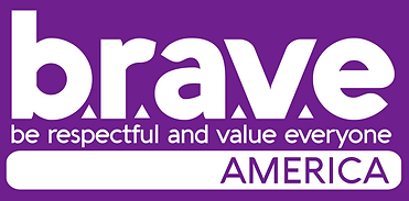 BRAVE AMERICA LOGO 2020 MEDIUM purple bg