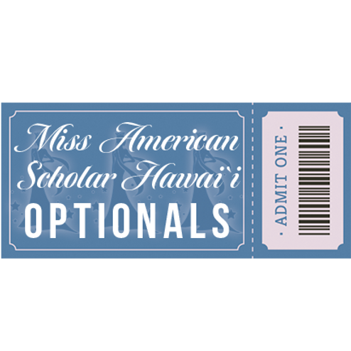 Presale Optionals Competition Ticket - Miss American Scholar Pageant 2020