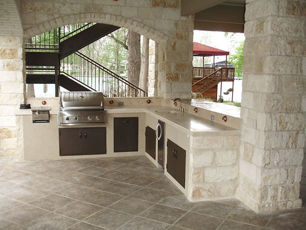 Outdoor Kitchen and Grill Fort Worth TX