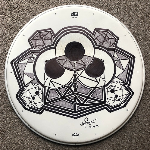 """14"""" 'DIMENSIONS' snare drumhead"""