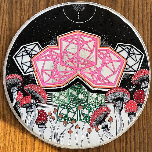 'NOCTURNE' Drum head art