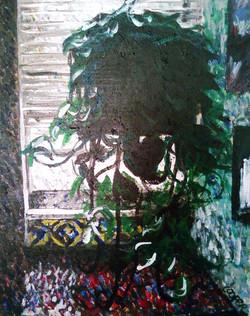 Pothos in Manayunk Window
