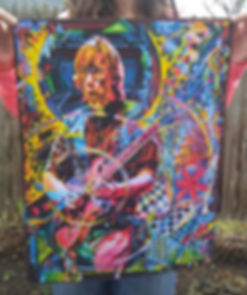 Trey Anastasio 6 poster outdoors (low im