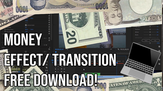 Money Transition Effect For Video editors [Adobe Premire Pro] Its Easy To Use Dont Need Plug In