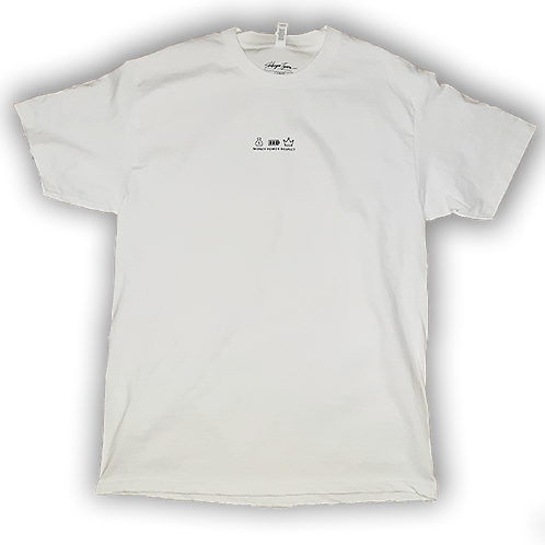 Money Power Respect Tshirt White
