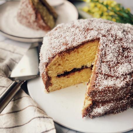 Leamington sponge cake
