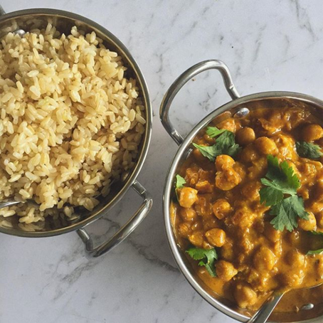 simple chickpea curry