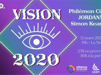 VISION 2020 - Présentation des artistes