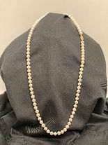 24in Strand of 6mm Cultured Pearls with
