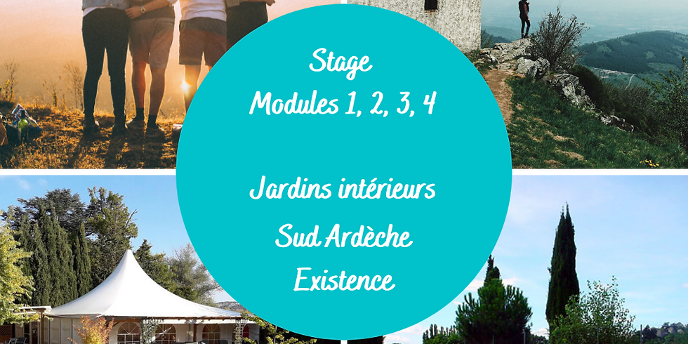 Stage Modules 1, 2, 3 et 4