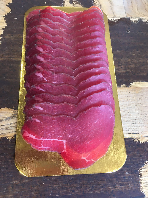 Wine Cured Beef Bresaola