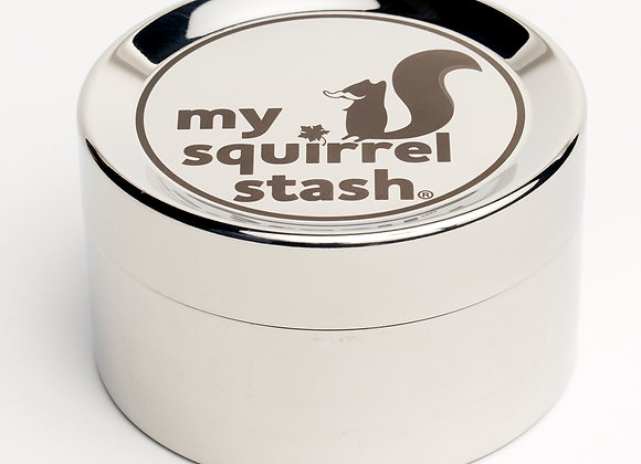 """""""My Squirrel Stash"""" Large Stainless Container"""