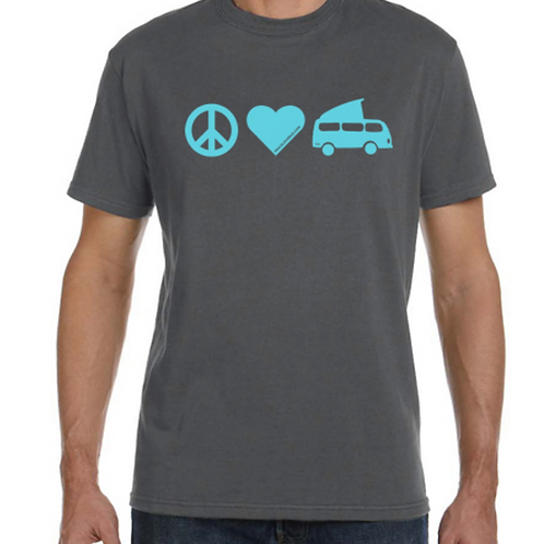 T-shirt PEACE LOVE BUS