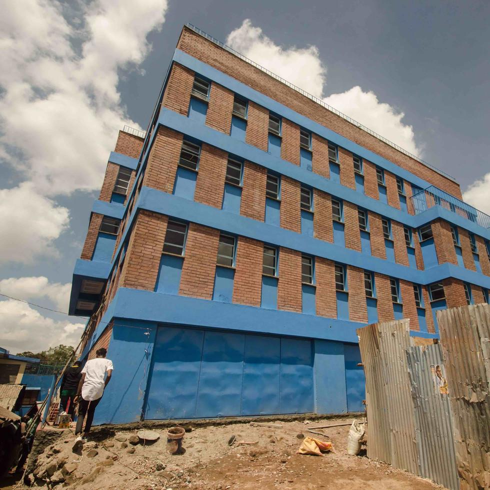 SCHOOL IN THE SLUM, KIBERA, NAIROBI