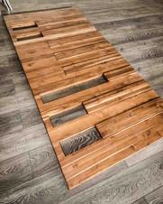 Hardwood Main Door design