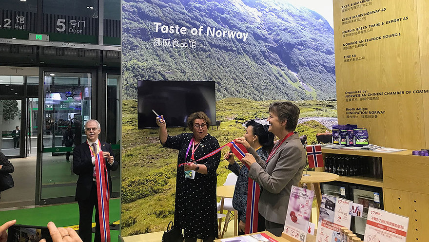 Norwegian-Food-Pavilion-Opened-by-Minist
