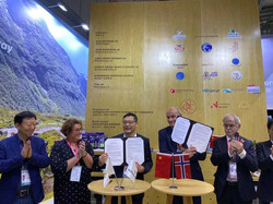 Signing ceremony Aker Biomarine