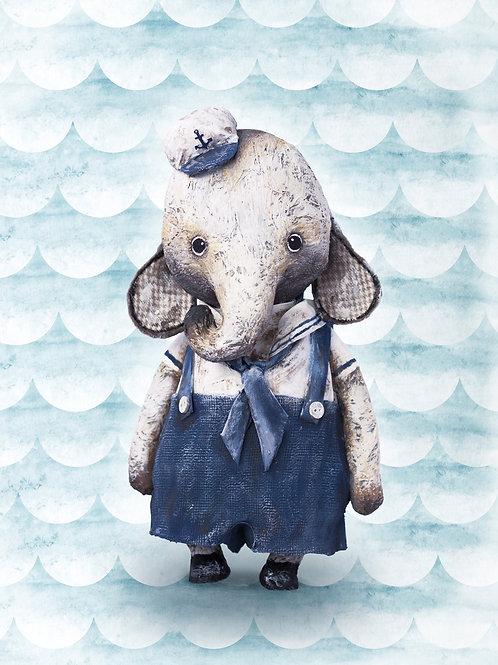 NENNI&FRIENDS Elephant poster