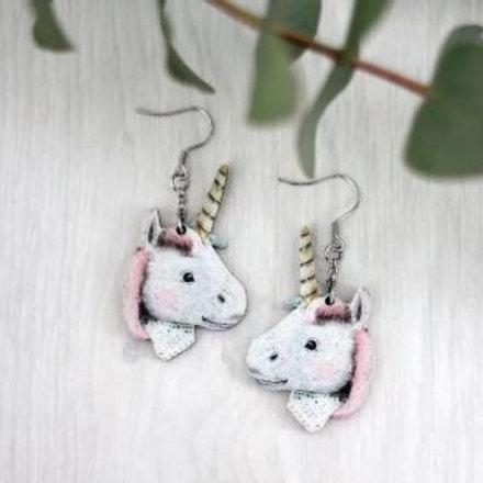 NENNI&FRIENDS Unicorn earrings