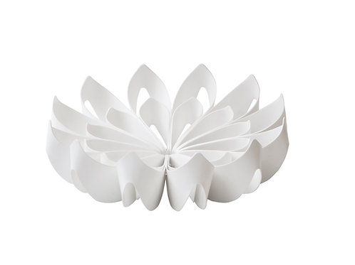 BE&LIV small Petals Fruit Bowl white