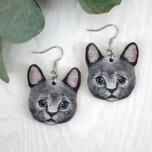 NENNI&FRIENDS Cat earrings