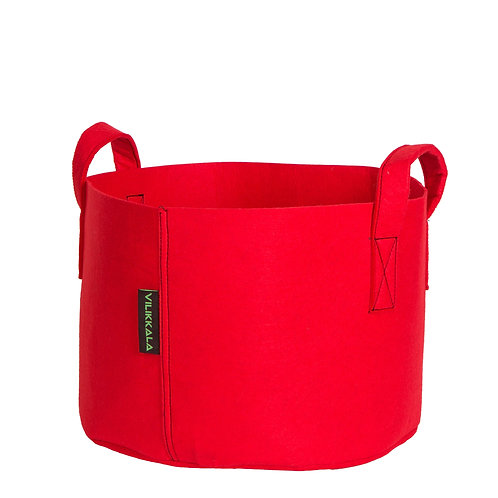 VILIKKALA Home Bag - Eco Friendly red felt basket ( 6.08 gal )