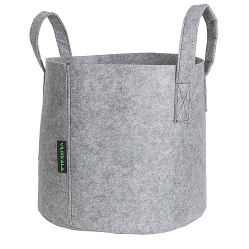 Vilikkala Home Bag - Eco Friendly grey felt bag ( 7.93 gal )