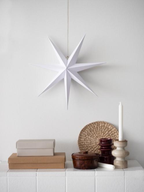 RiiKe paper star, White