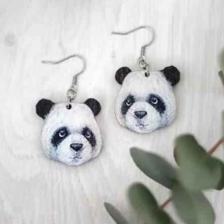 NENNI&FRIENDS Panda earrings
