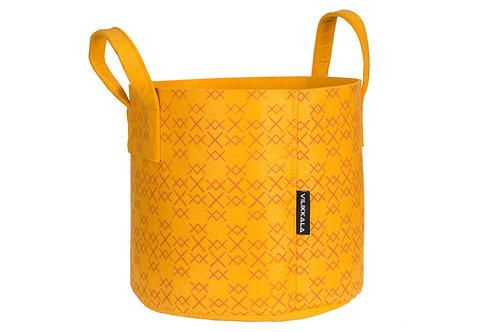 VILIKKALA- Eco Friendly Golden Ochre Felt Bag (7.93 gal)