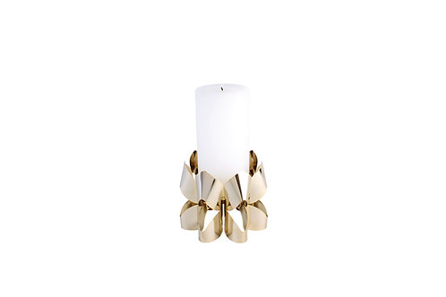 BE&LIV Palea Tall candleholder gold