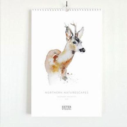 Ester Visual 2021 Wall Calendar