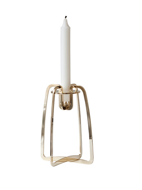 BE&LIV Solo candleholder gold