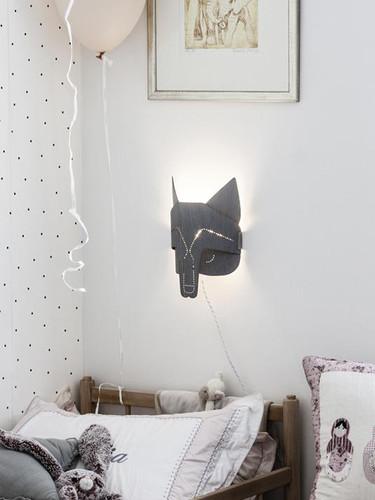 Spirit Animal Wolf Lamp