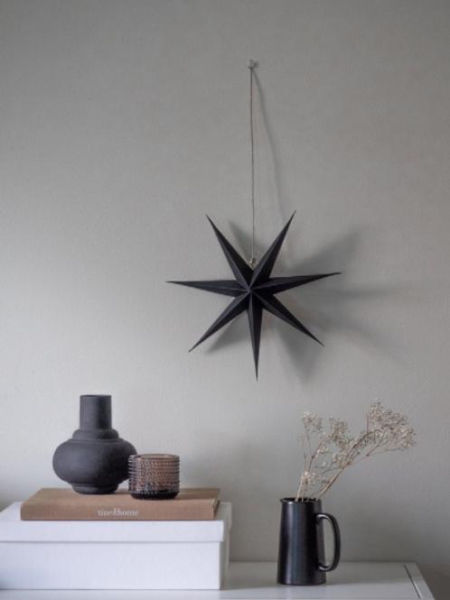 RiiKe paper star, Black