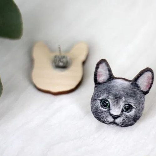 NENNI&FRIENDS Cat earrings